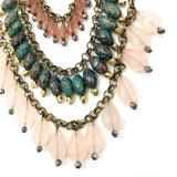 Multi Acrylic слоев отбортовывает ожерелье
