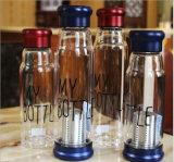 Alta bottiglia di vetro portatile del tè di vetro di Borosilicate
