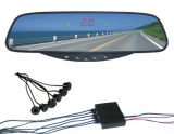 4.3inch Visible Mirror Parking Sensor con Camera (WRD-017)