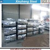 Matériau de construction de tôle en acier galvanisé ondulé tôle de toit