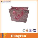 Finger-Drucken-Geschenk-Papierbeutel/Einkaufstasche/Luxuxpapierbeutel mit Silk Ribbion