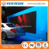 Pantalla de interior de la etapa mágica de la cortina de la exhibición de LED