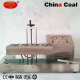 Máquina continua automática del lacre del papel de aluminio del sellador de la inducción