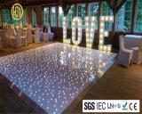 별 결혼식 LED 댄스 플로워를 사용하는 백색 Portable