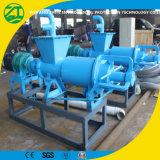 Separador líquido contínuo do tratamento da água do Waster no projeto municipal