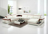 Sofa en U fonctionnel de cuir du modèle G8020 neuf