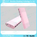 11000mAh 4 Bank van de Macht van de Batterij van de Haven USB de Externe met de Toorts van de Noodsituatie (ZYF8081)