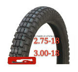 Heißes Zahn-Motorrad-Reifen des Verkaufs-275-18/300-18 grosser/Motorrad-Gummireifen