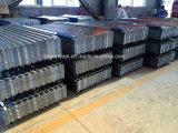 900mm Breiten-Zink-Beschichtung-galvanisiertes gewölbtes Stahldach-Blatt