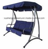 現代様式の屋外の3人のデラックスな庭の振動椅子