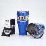 Copo azul do Yeti do Tumbler da caneca de cerveja de 30 carros do Rambler do refrigerador do Yeti da onça