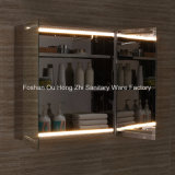 Шкаф зеркала ванной комнаты СИД конструкции Европ