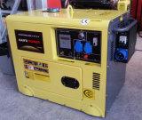Bewegliche Luft abgekühltes leises Dieselgenerator-Set
