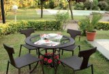 Euro Grey ou Bronze Tempered Tabletop Glass pour meubles de jardin Verre
