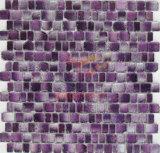 Mozaïek van het Kristal van de Kleur van gradiënten het Purpere Rand Gebarsten (CFC324)