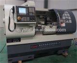 Máquina chinesa Ck6136A-2 do CNC do torno da elevada precisão para a estaca do metal