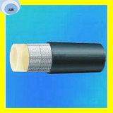 Erstklassiger harz-Hochdruckschlauch der Qualitätssae 100 R8/En 855 umsponnener Gummisynthetischen Faser-R8