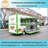 Chariot mobile électrique de nourriture de camion de fruits et légumes avec du ce et le GV
