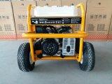 7500 портативной ватт нефти генератора с RCD и 4 колесами x пневматическими большими (GP8000SE)