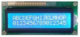 Zeichen LCD-Baugruppe negative RoHS Bildschirmanzeige-Baugruppe LCD 2X16