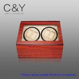 Dongguan Factory PU Lederen Horloge Winder voor 10 horloges