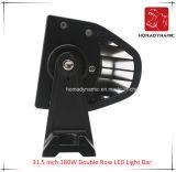 LED 차 빛 31.5 인치 180W 도로 빛과 LED 모는 빛 떨어져 SUV LED를 위한 두 배 줄 LED 표시등 막대