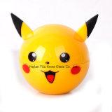 De Molens 3 Delen 55mm van de Bal van de Por van de Molen van het Kruid van Pikachu de Legering van het Zink van Molens Pokeball & de Plastic Molens van het Metaal van het Kruid
