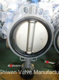 150lb Wcb CF3m Sitzdrosselventil der Platten-EPDM mit Gang