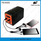 Sistema de iluminação Home solar Multifunction com a bateria todo do Li-íon do controlador da carga em um jogo