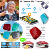 inseguitore anziano di GPS della rete 3G con la macchina fotografica (V42)