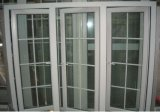 환기 미늘창 Windows (PCW-033)를 가진 60의 시리즈 PVC 여닫이 창 Windows