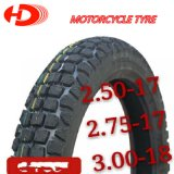 Motorrad-Gummireifen mit Schläuchen 2.25-17 2.75-17