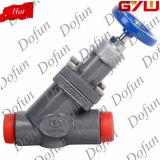 Abkühlung-Ammoniak-End-und Rückschlagventil mit Schutzkappe für Kühlraum-Rohr