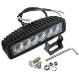 極度の明るい単一の列80W 4*4 LEDのライトバー