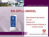 Höhenruder-Fußboden-Bildschirmanzeige-Panel (SN-DPLL-06002L)