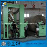 Carta kraft Che fa macchina e piccola scala pianta di riciclaggio del documento ondulato