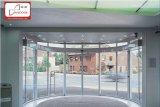 Porta deslizante curvada automática (1071.105D), circular e frame parcialmente circular auto porta curvada