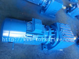 R Gearedmotor, Inline Helical Gearbox mit ABB Motor