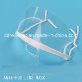 Masque facial antibrouillard en plastique transparent (CW-CS604)