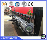 Freio da imprensa hidráulica do CNC WE67K-125X3200, máquina de Bendig da placa de aço
