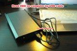 8CH Mdvr unterstützt HDD bis zu 2tb sowie Ableiter-Karte bis zu 128GB für Einsparung-videodateien