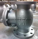 API/JIS/DIN Non-Return de aço fundido da válvula de retenção do Giro (H44H-dn150-150LB)