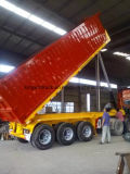 Trois essieux 30 tonnes de remorque arrière