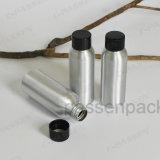 Алюминиевые E-жидкого масла бачок с черный пластиковый винт крышки (PPC-ACB-042)