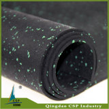 Anti Slip Mat Crossfit de goma del piso en rollo