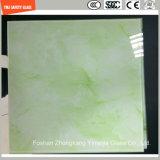 Haute qualité 3-19mm Peinture numérique / Sérigraphie / Gravure acide / Frosted / Pattern Flat / Bent Tempered / Toughened Glass for Wall / Floor / Decoratio with SGCC / Ce & CCC & ISO