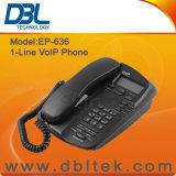 1-lijn DBL Hete Telefoon EP-636 van VoIP