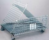 Gaiola de aço Foldable do armazenamento/gaiola do armazém (1200*1000*890 Nb-7)