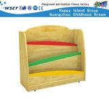 Crianças pequenas estante de livros de madeira em stock (HC-4306C)