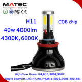 Coche universal LED que conduce la linterna alta-baja G5&#160 de la viga LED de la linterna H4 40W; para el vehículo campo a través del jeep